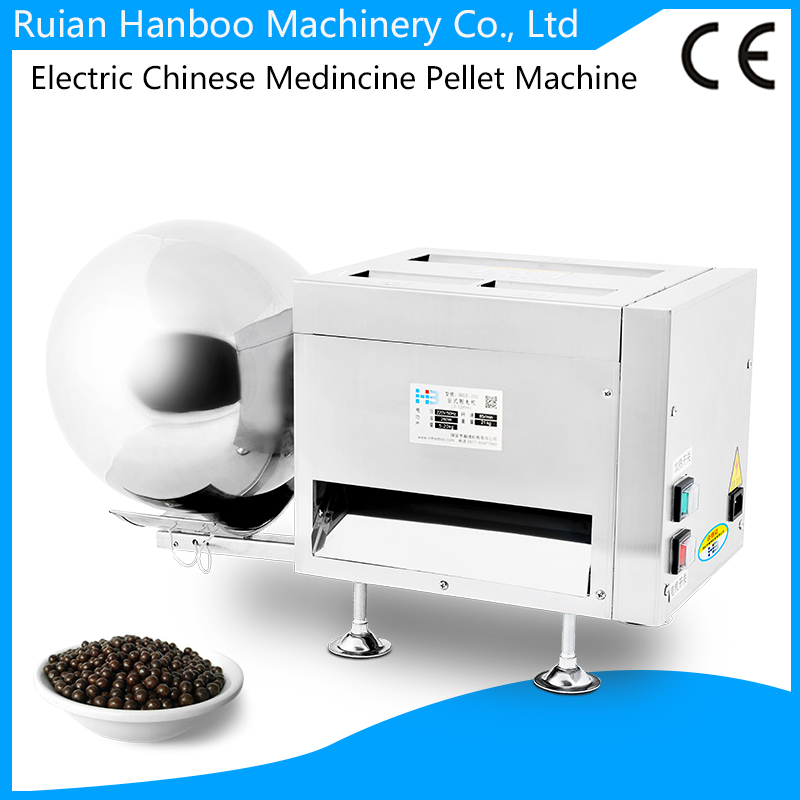 Electric small Chinese Pharmaceutical medicine pill tablet/pellet making machine