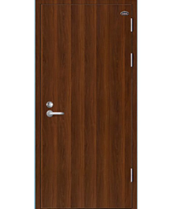 Fire rated door with lines