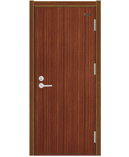 Fire Rated wooden Door with grain