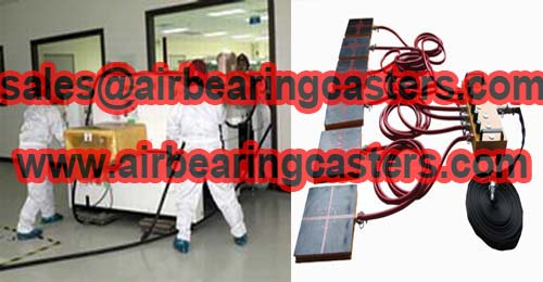 Air Bearings and Casters moving armamentarium