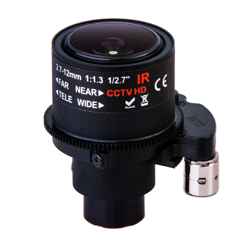 China manufacturer 2.7-12mm supporting near-infrared starlight large apertured motorized zoom CCTV lens