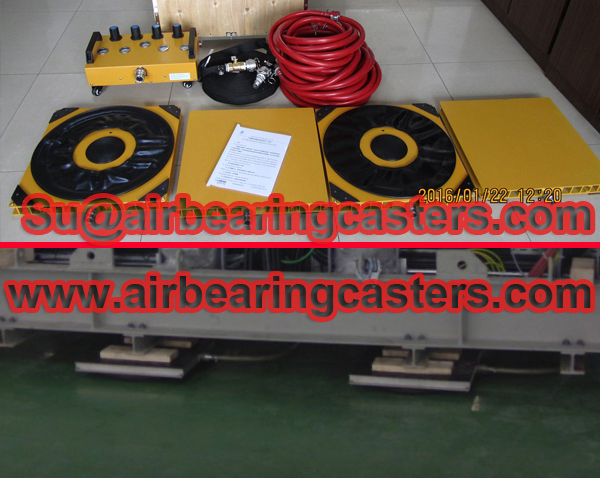 Air bearings movers advantages