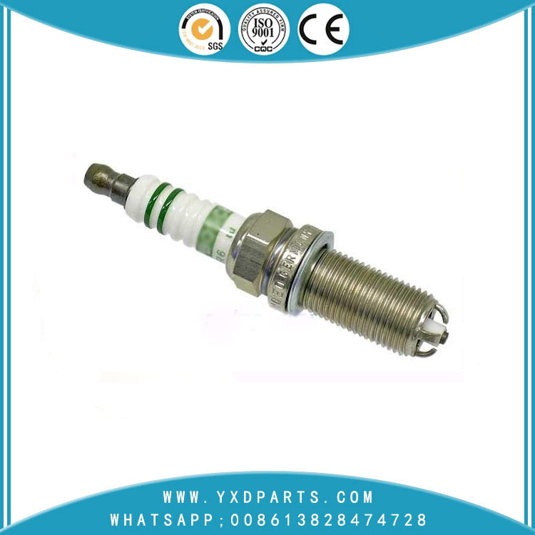 3 - Earthed Electrode Nickel Bosch Spark Plugs 30650843 For VOLVO S40