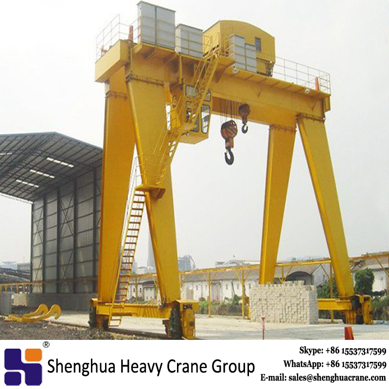 150 ton double girder box type gantry crane
