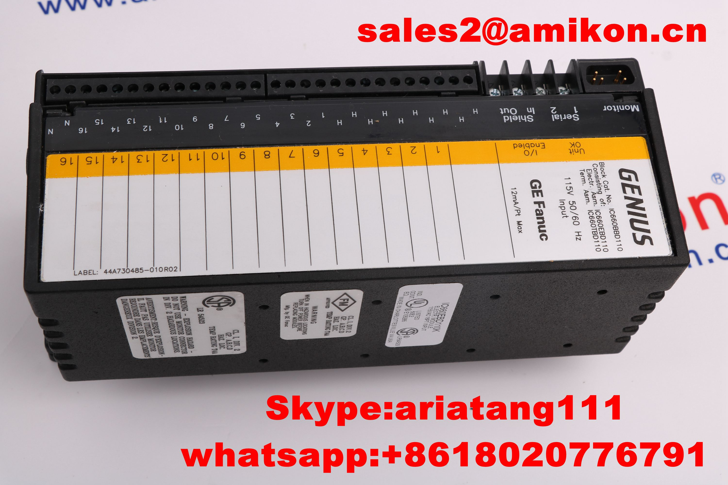 GE IC693PWR321P PLC DCS System Distributor sales2@amikon.cn