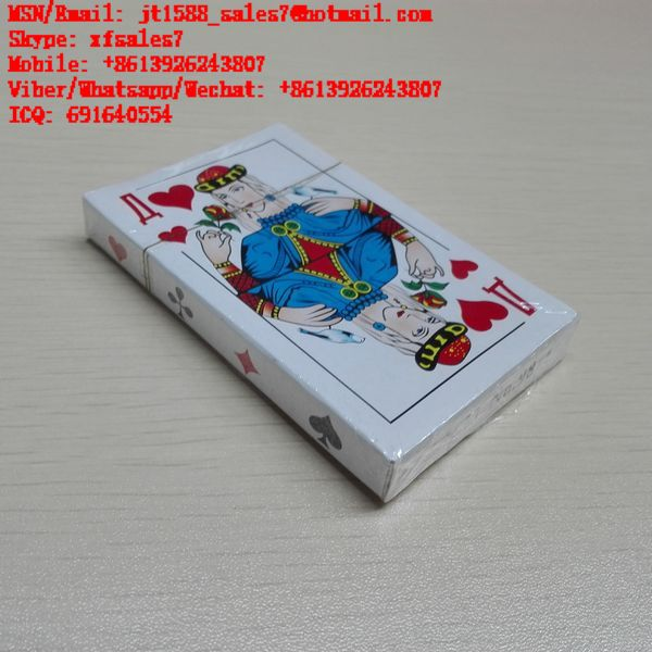 XF Russian Paper Playing Cards Z.X.M No.9811 With Invisible Ink Markings For Invisible Lenses And Filter Camera / Marked Cards China / Poker Cheat / Texas Hold'em Cheat / Omaha Cheat / Cheat In Poker