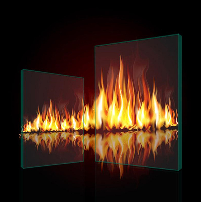 Ultra large Fireproof Glass