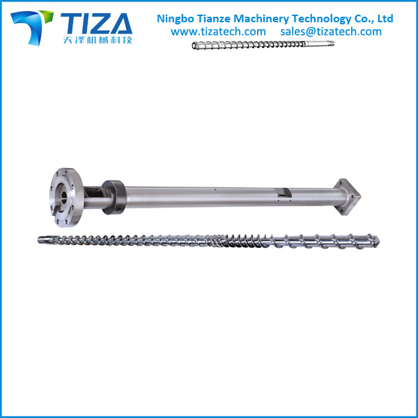 EXTRUDER BARREL SCREW for PVC PLASTIC