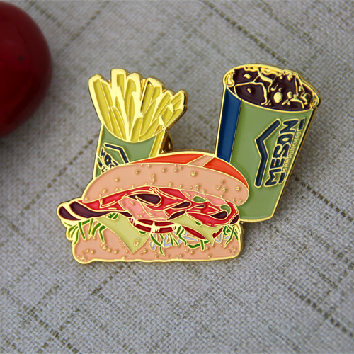 Hamburger Lapel Pins