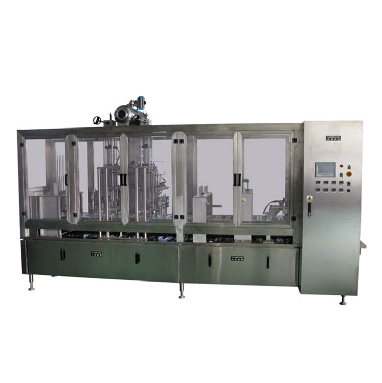 Horizontal Plastic Cup Fill & Seal Machine (SKB-D)