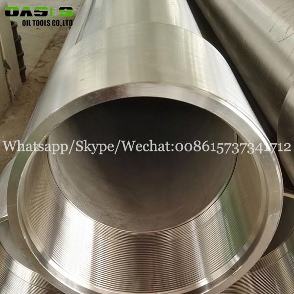 pipes casing stainless steel standard API 5ct tube for oil well drilling