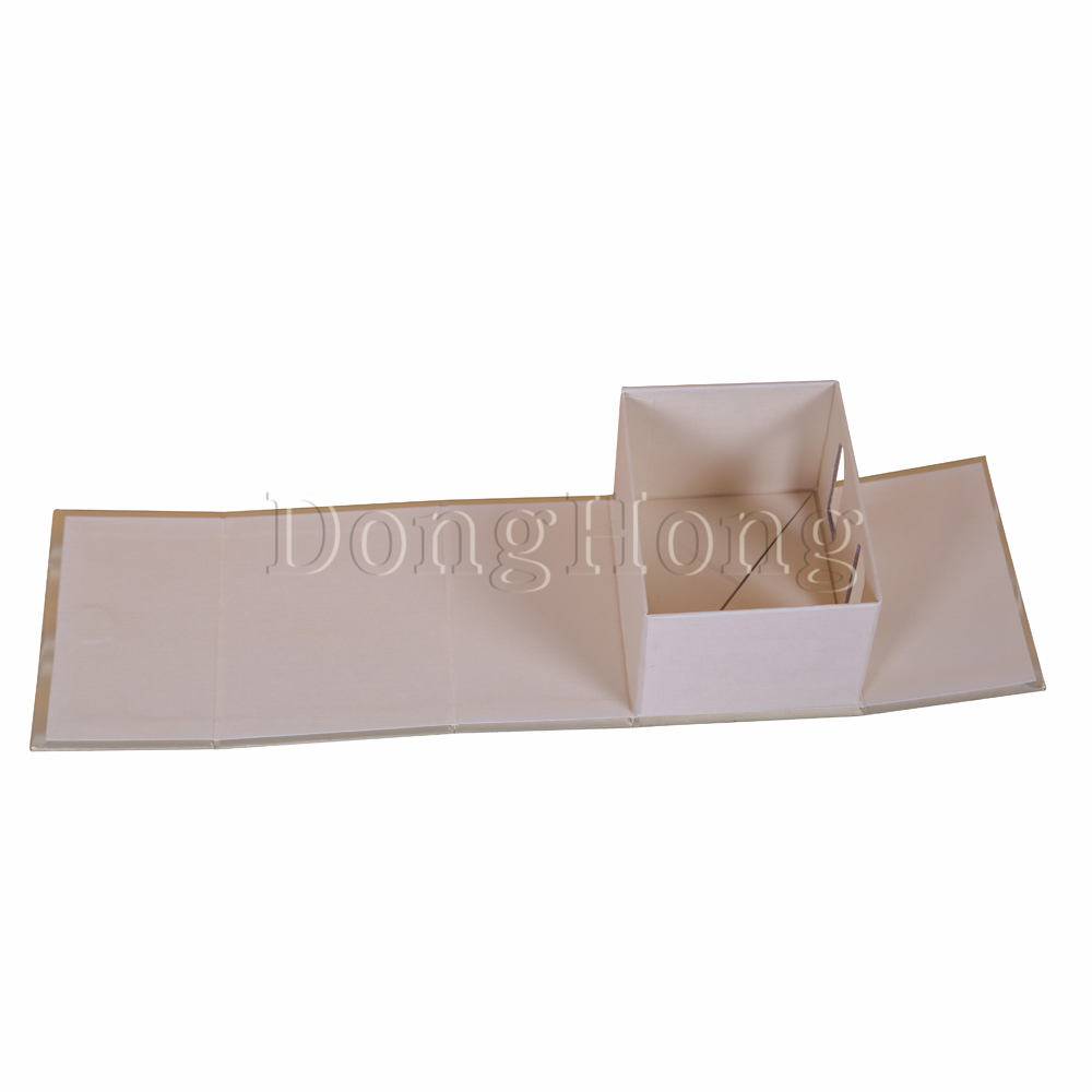 Metallic Paper Collapsible Gift Box