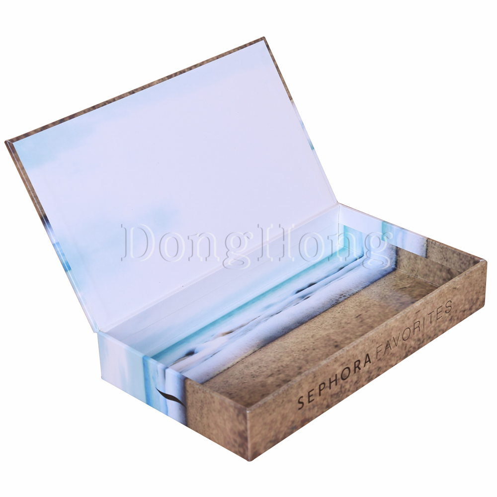 Book Shape Magnetic Cosmetic Gift Boxes