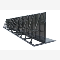 CROWD CONTROL BARRIER, flashing with high quality