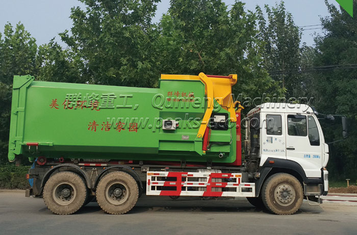 Intelligent Mobile Waste Compress Equipment