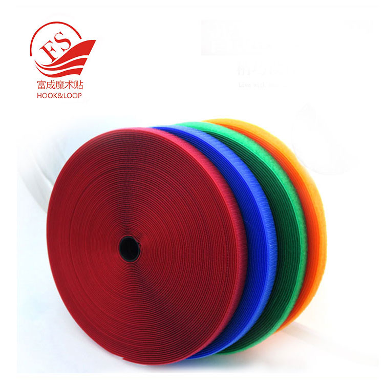 Pretty colourful riendly environment magic tape for fastening mat