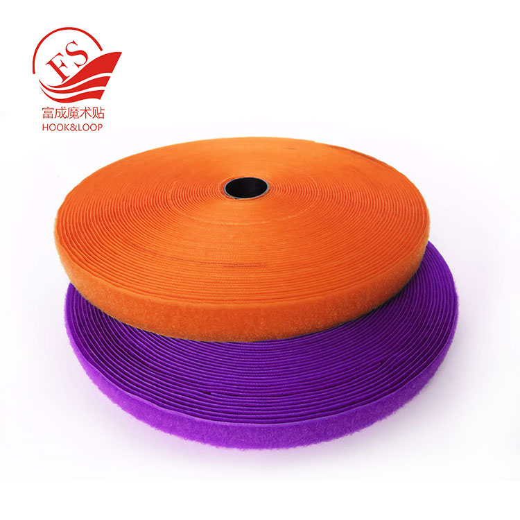 Widely use stitching hook loop tape roll fastening