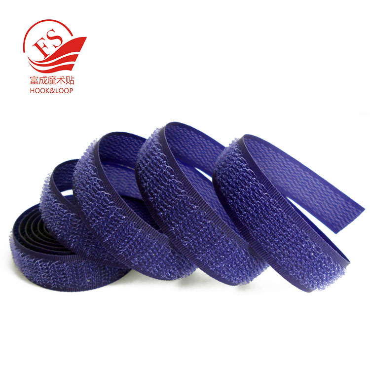 100% Nylon Colorful eco-friendly hook and loop tape