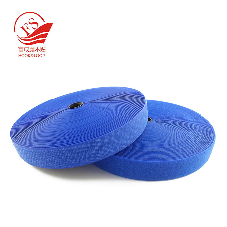 Low profile nylon hook and loop tape with high quality