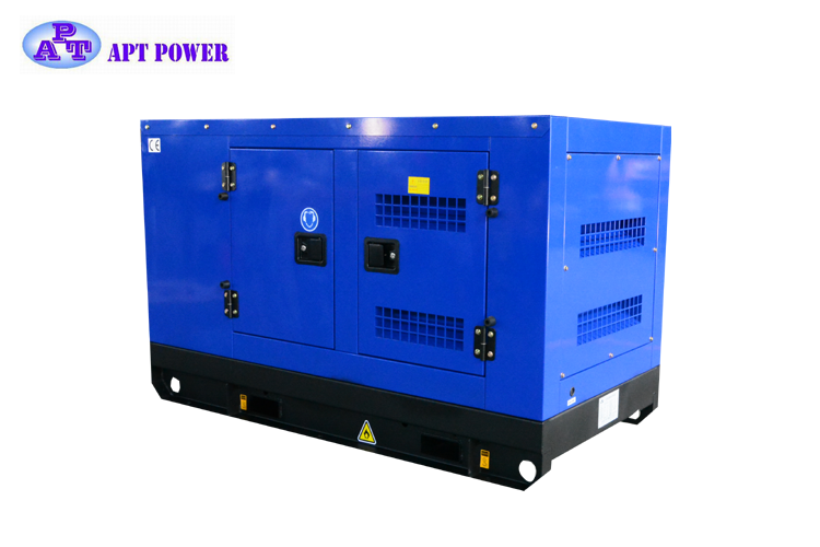 Famous Brand 110kVA Cummins Gas Generator in Super Silent Type with Water Cooling