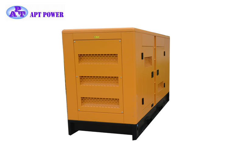 124kVA Famous Brand Perkins Diesel Generator with Soundproof in Water Cooling and ISO 9001