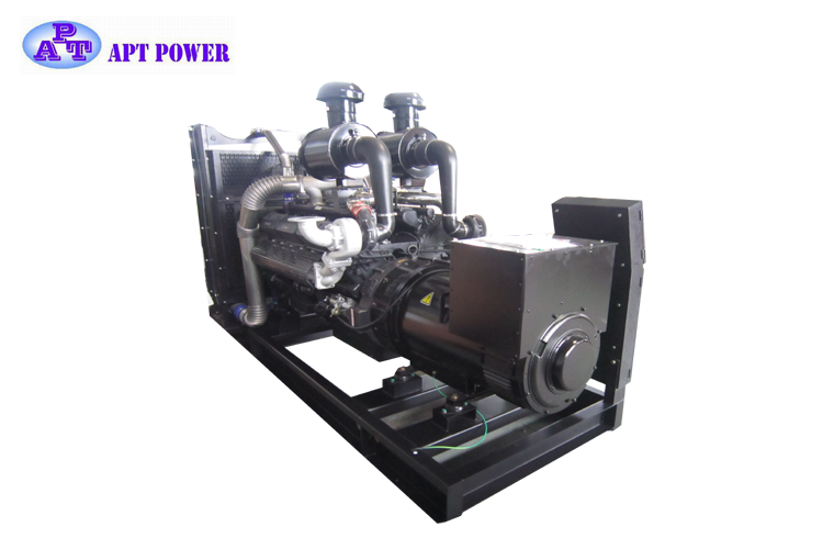344kVA Famous Chinese Brand Shangchai Brand Diesel Generator in Open Type with ISO and Optional Color