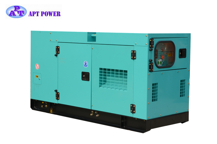 99kVA Soundproof/ Open Type Cummins Diesel Generator with Water Cooling and Optional Color and ISO