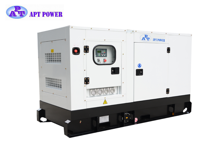 55kVA Soundproof Cummins Diesel Generator with Water Cooling Low Noise/ Open Type/ Slient Optional