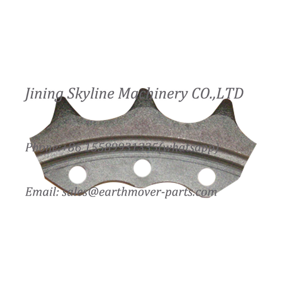 10Y-18-00011 SHANTUI bulldozer sprocket teeth