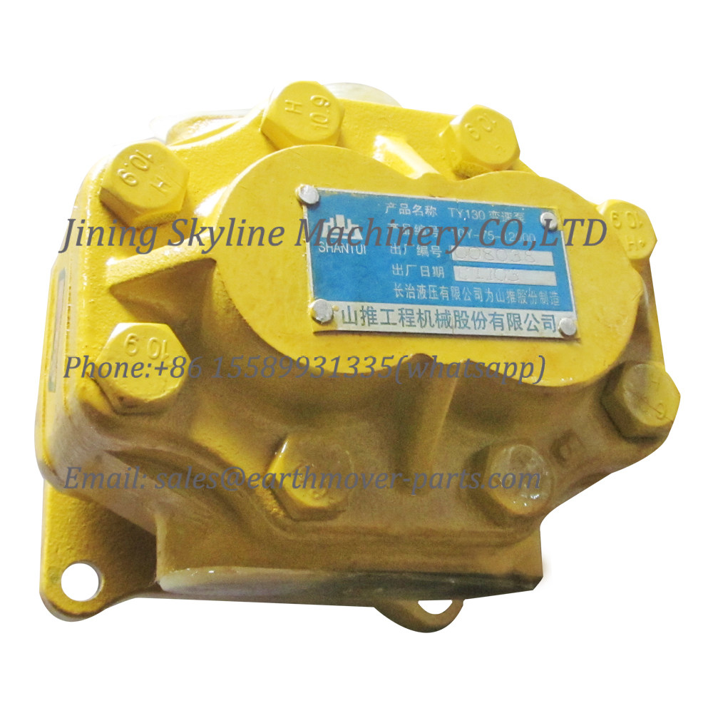 10Y-75-12000 SHANTUI SD13 bulldozer transmission pump