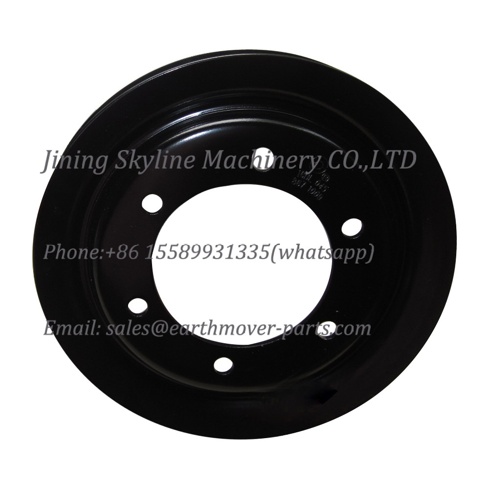 16BB026 belt pulley, SHANGCHAI C6121 engine parts