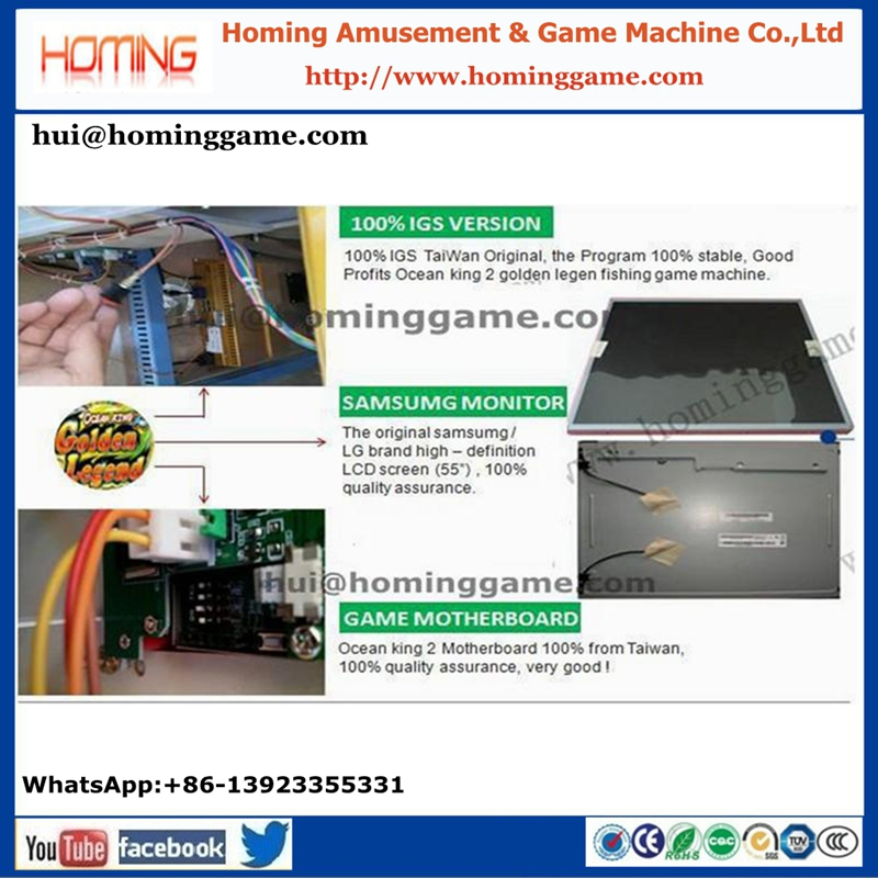 Arcade IGS KONG Fishing Arcade Table Game Machine Up Casino