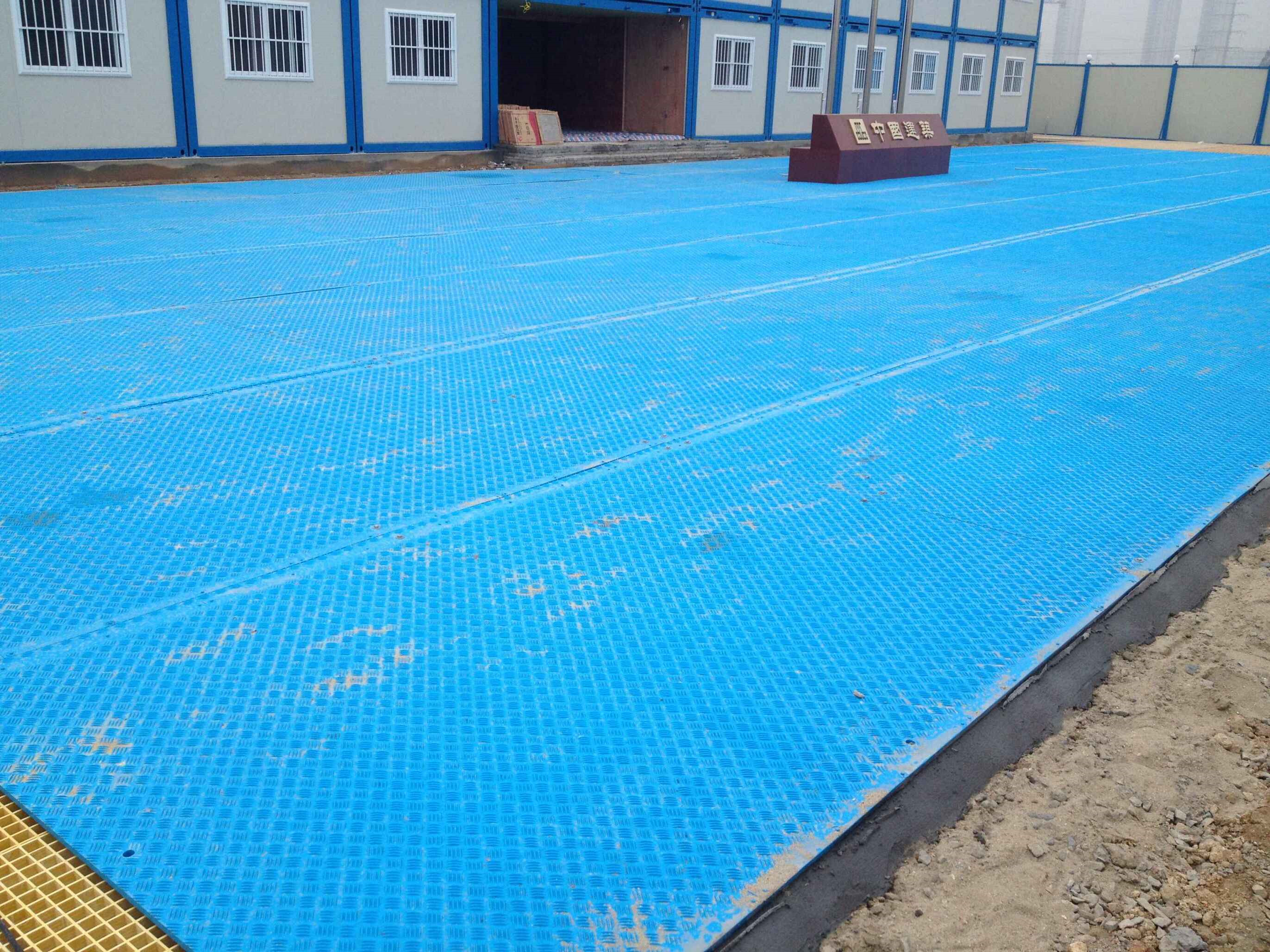 Uhmwpe/hdpe temporary road protection mats