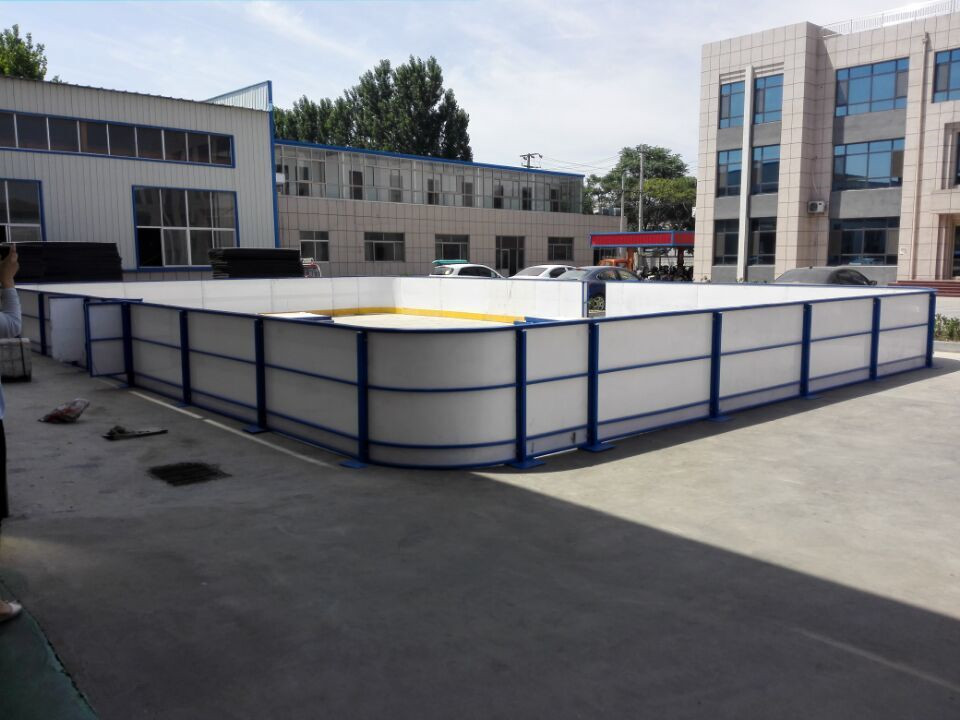 China manufacturer plastic ice rink protect dasher board