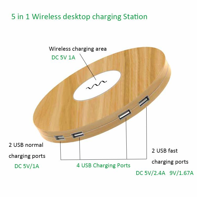 JT-WN32 Wireless Desktop Charger