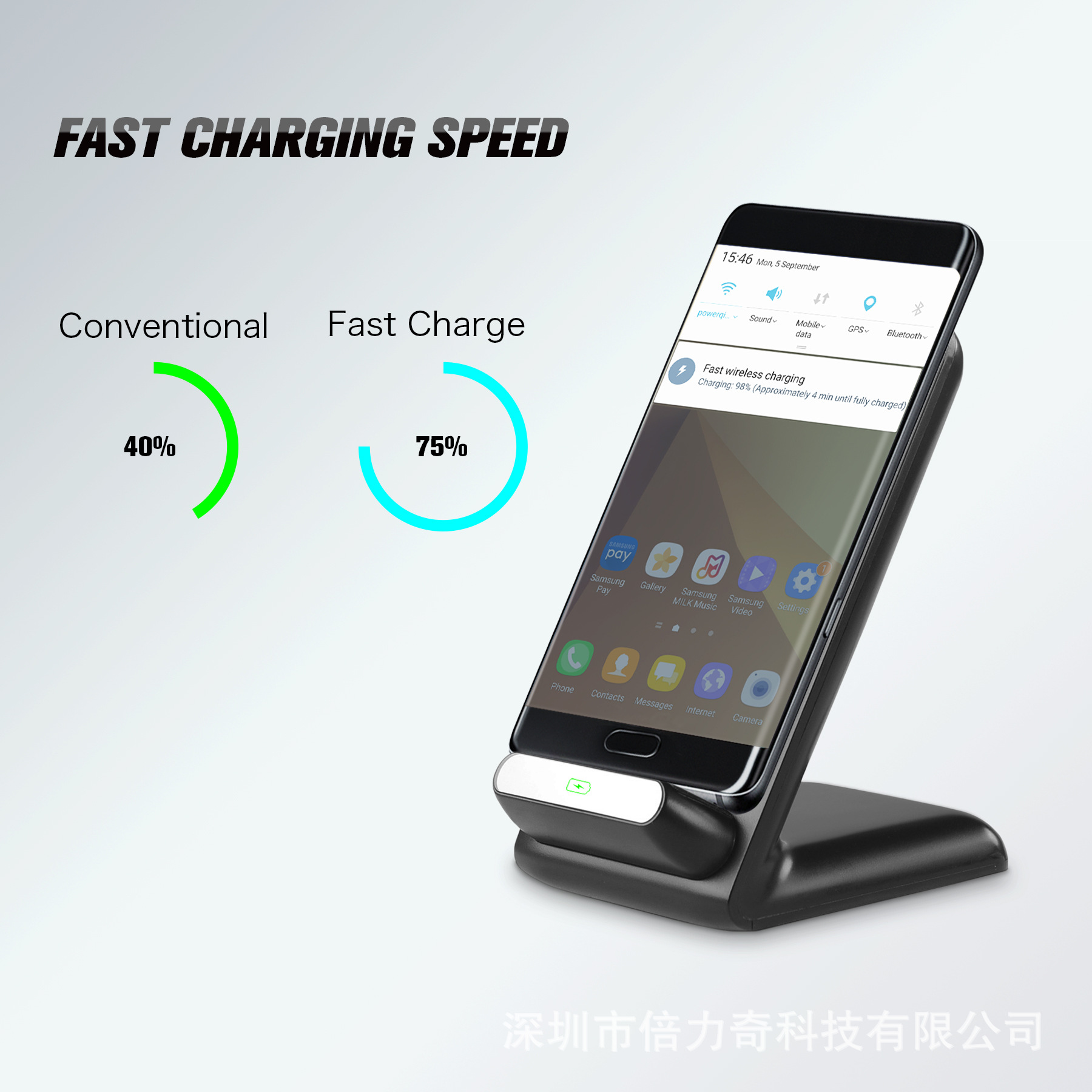 JT-HB1 Wireless Charger Car Holder