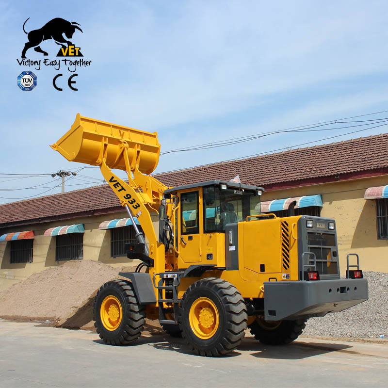 wheel loader VET933