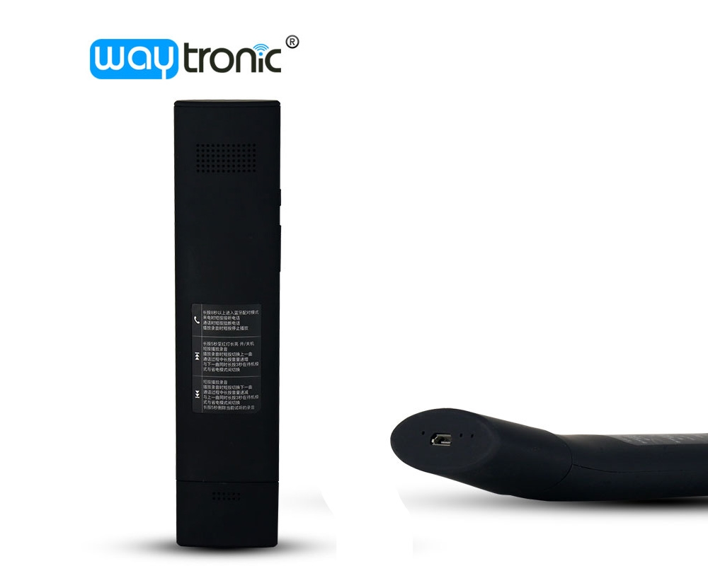 Waytronic focus on phone call recorder, is a well-known bra