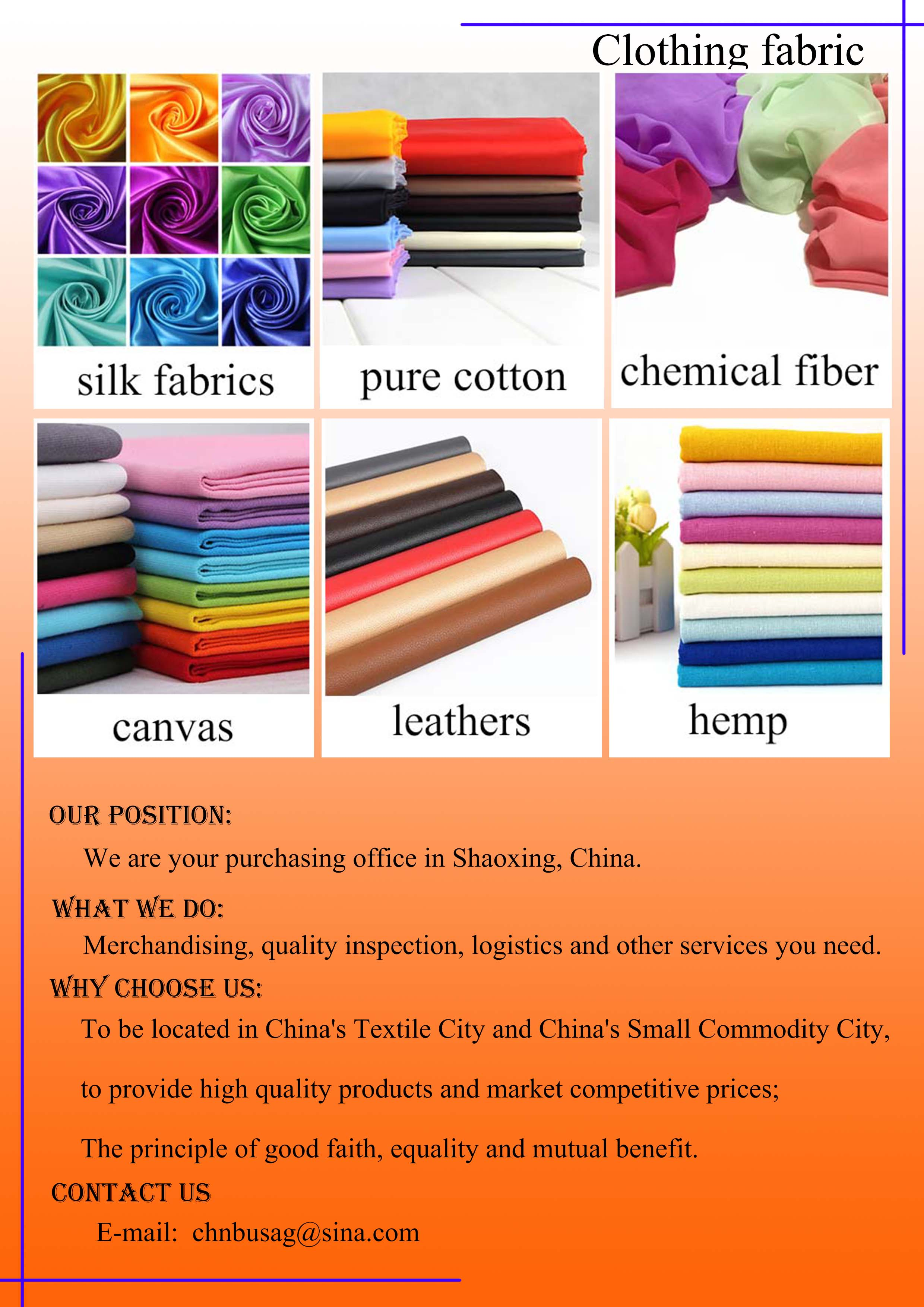 Clothing fabric,Daliy necessities,Small articles of daily use,Hardware tools