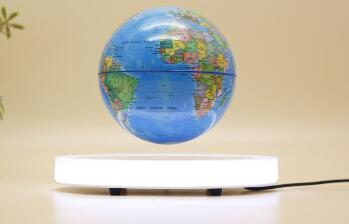 MAGNETIC floating levitate bottom globe 7inch