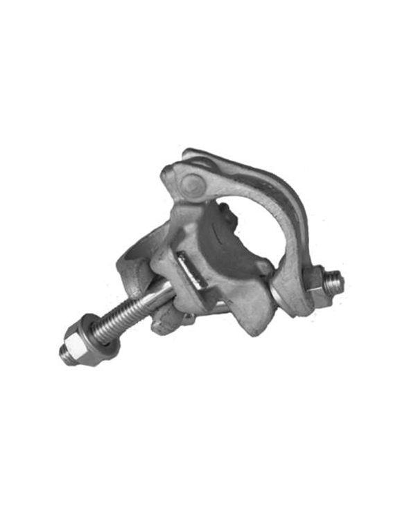 Drop forged scaffold coupler