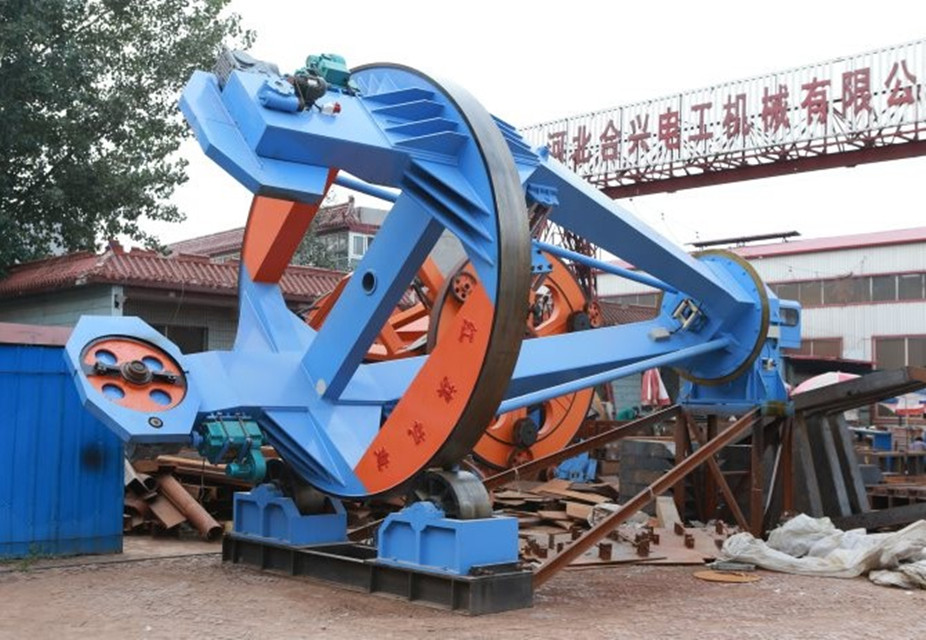 Wire Cable Machine Drum Twister Type Laying Up Machine With Steel Wire Armoring
