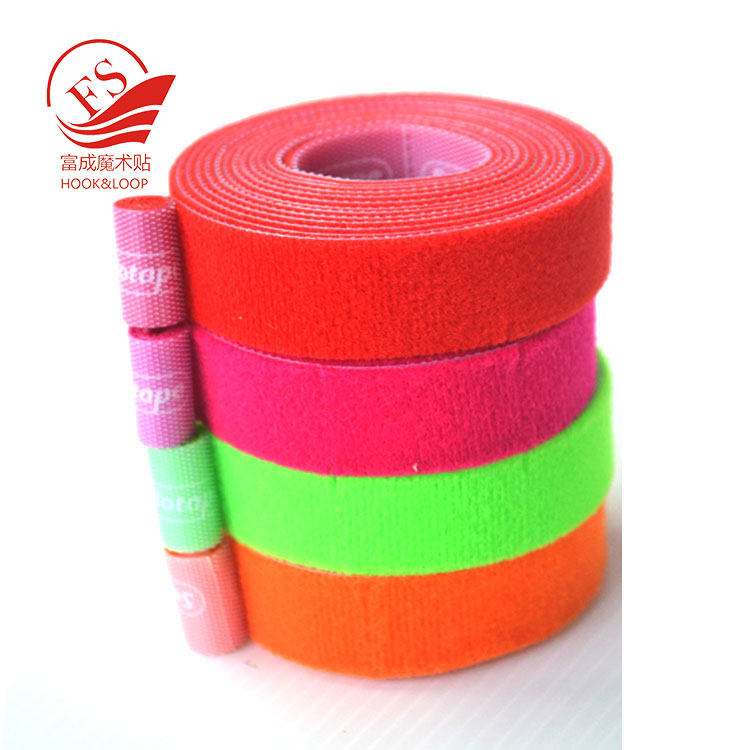 Text Print self Gripping back to back male and female hook loop Wrap Strapping