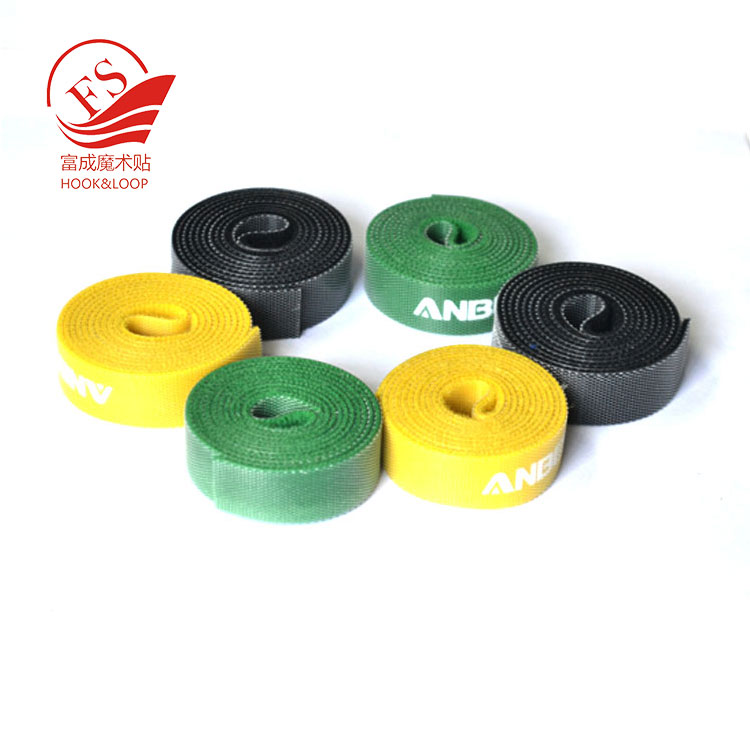 Wholesale double sided self locked hook loop roll