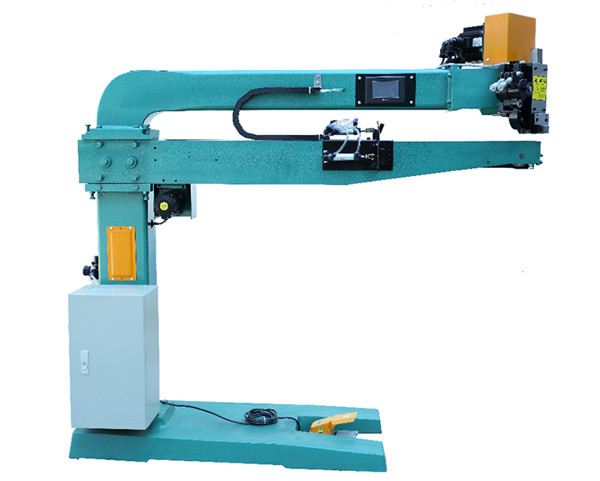 Manual high speed corrugated carton stitching machine
