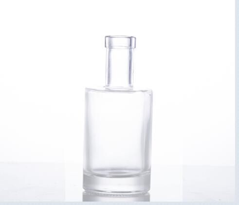 250ML glass vodka bottle