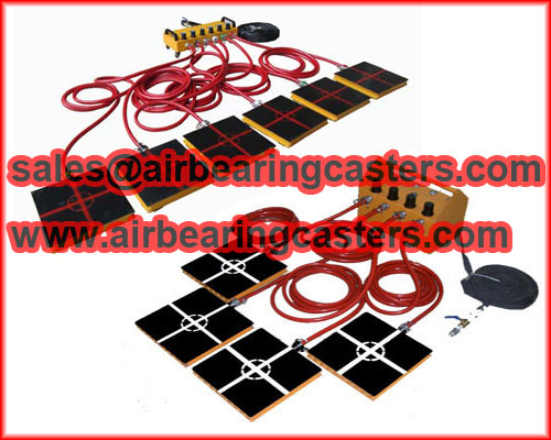 Air casters load moving equipment protect your equipments