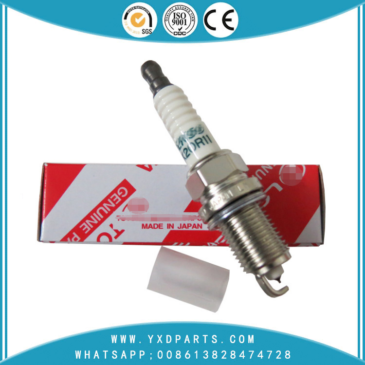 Hot selling Sk20r11 90919-01210 spark plug candle for toyotas camry lexus highlander rav4