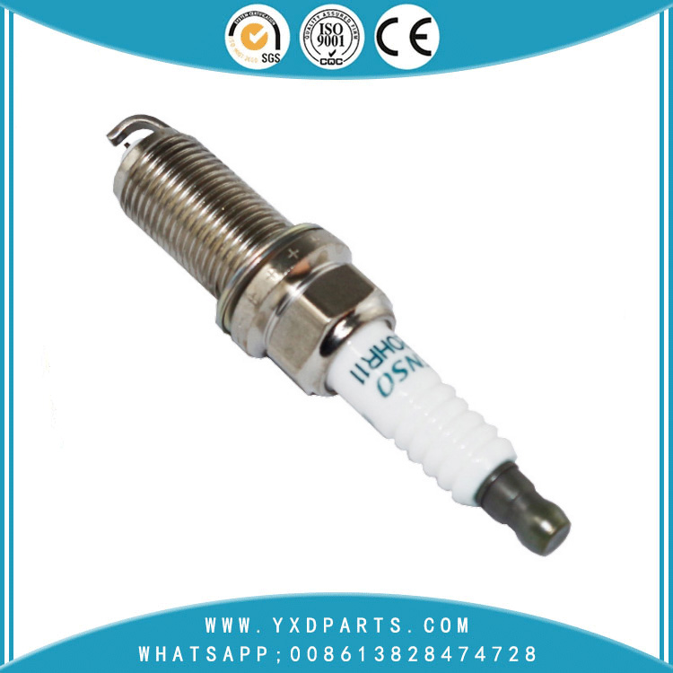High quality ceramics ignition electrode spark plugs iridium for TOYOTA  YARIS AYGO  LAND CRUISER 90919-01233 SK16HR11