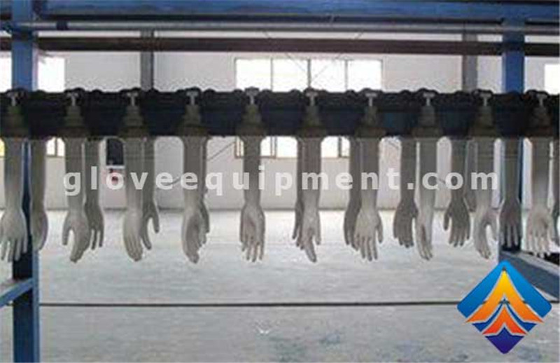 Medical glove production line